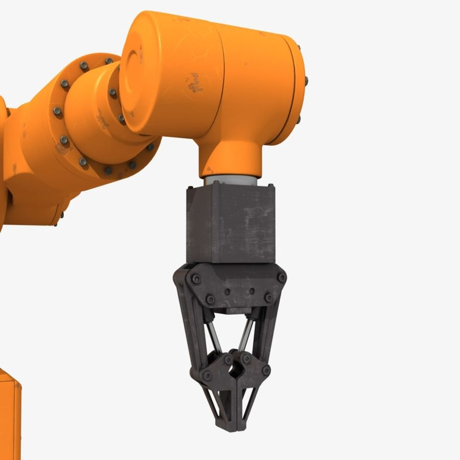 Industrial Robot Arm royalty-free 3d model - Preview no. 8