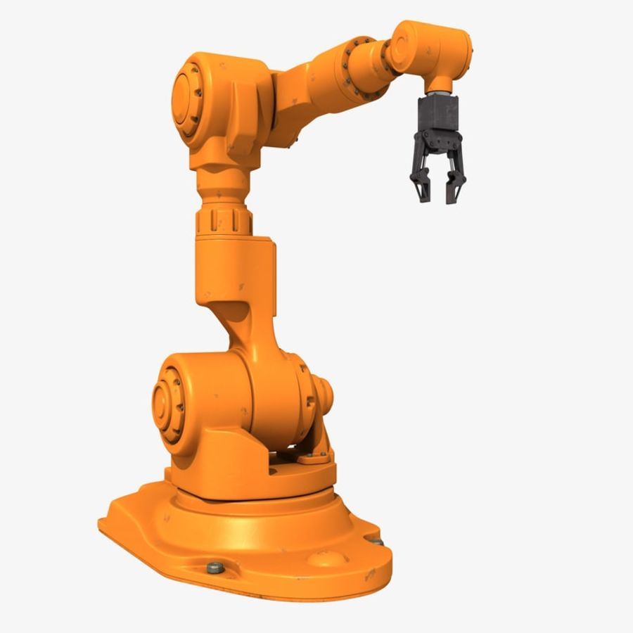 Industrial Robot Arm royalty-free 3d model - Preview no. 1