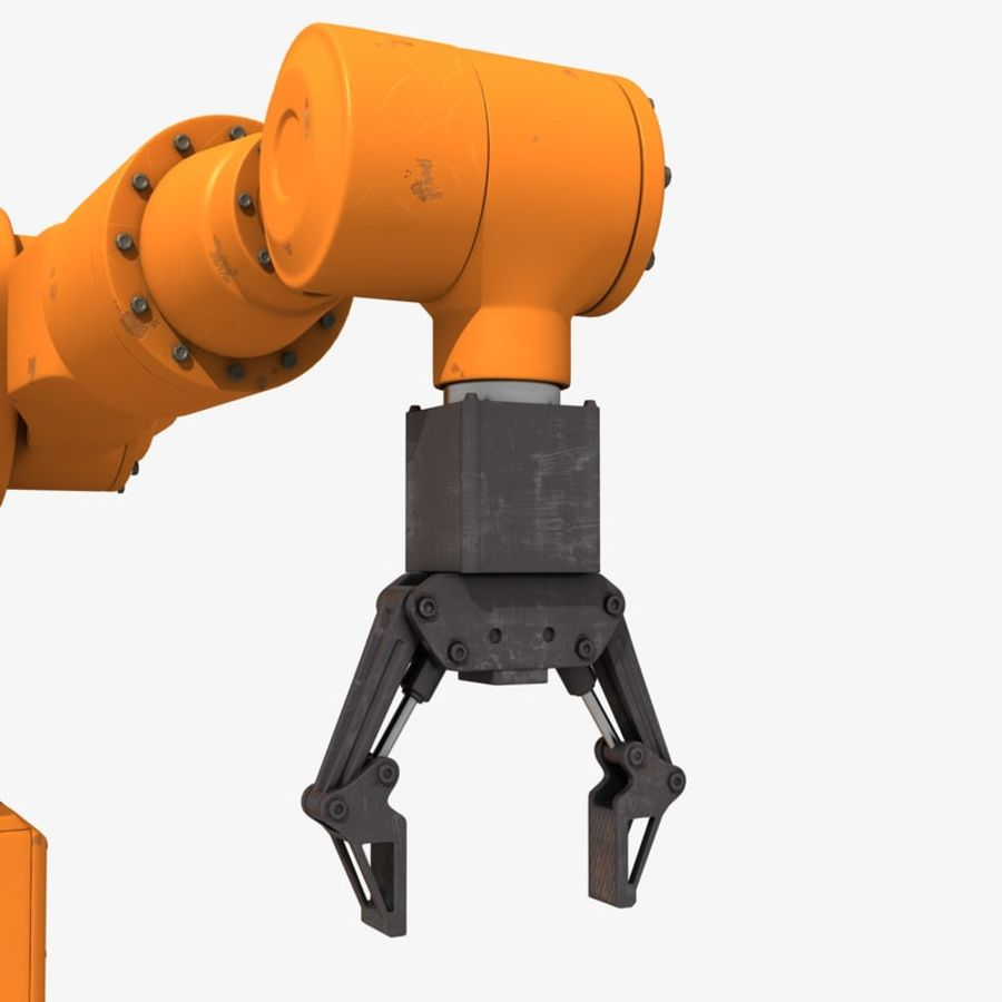 Industrial Robot Arm royalty-free 3d model - Preview no. 6