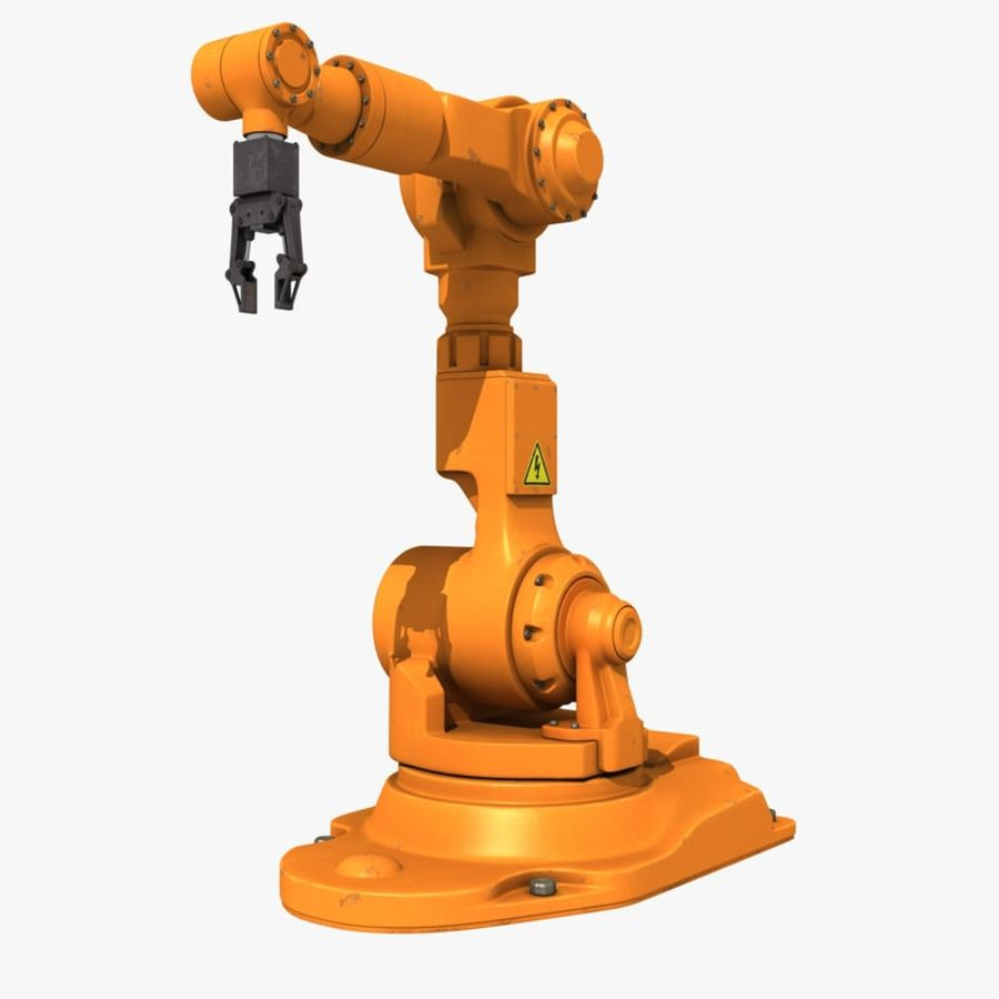 Industrial Robot Arm royalty-free 3d model - Preview no. 2