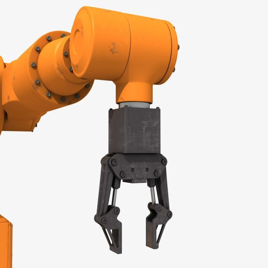 Industrial Robot Arm royalty-free 3d model - Preview no. 7