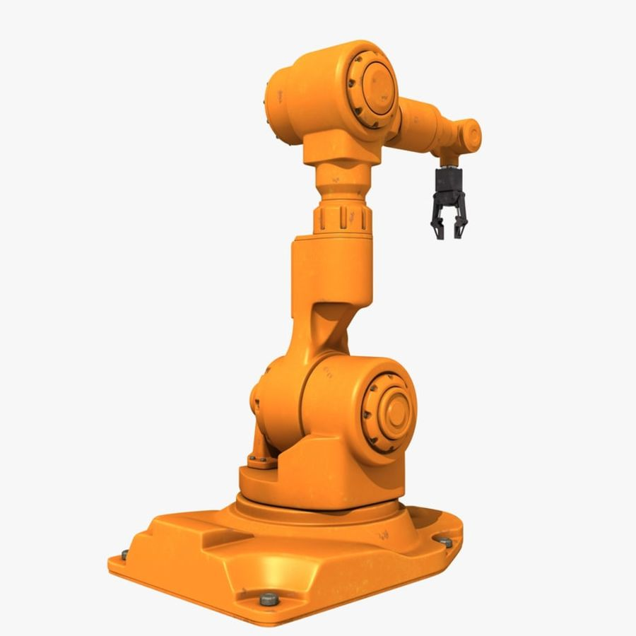 Industrial Robot Arm royalty-free 3d model - Preview no. 5