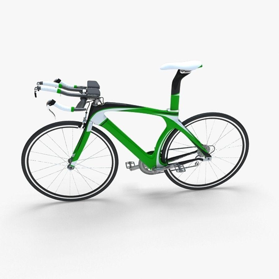 Road Bike royalty-free 3d model - Preview no. 1