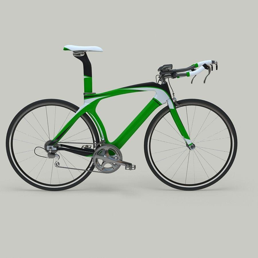 Road Bike royalty-free 3d model - Preview no. 6