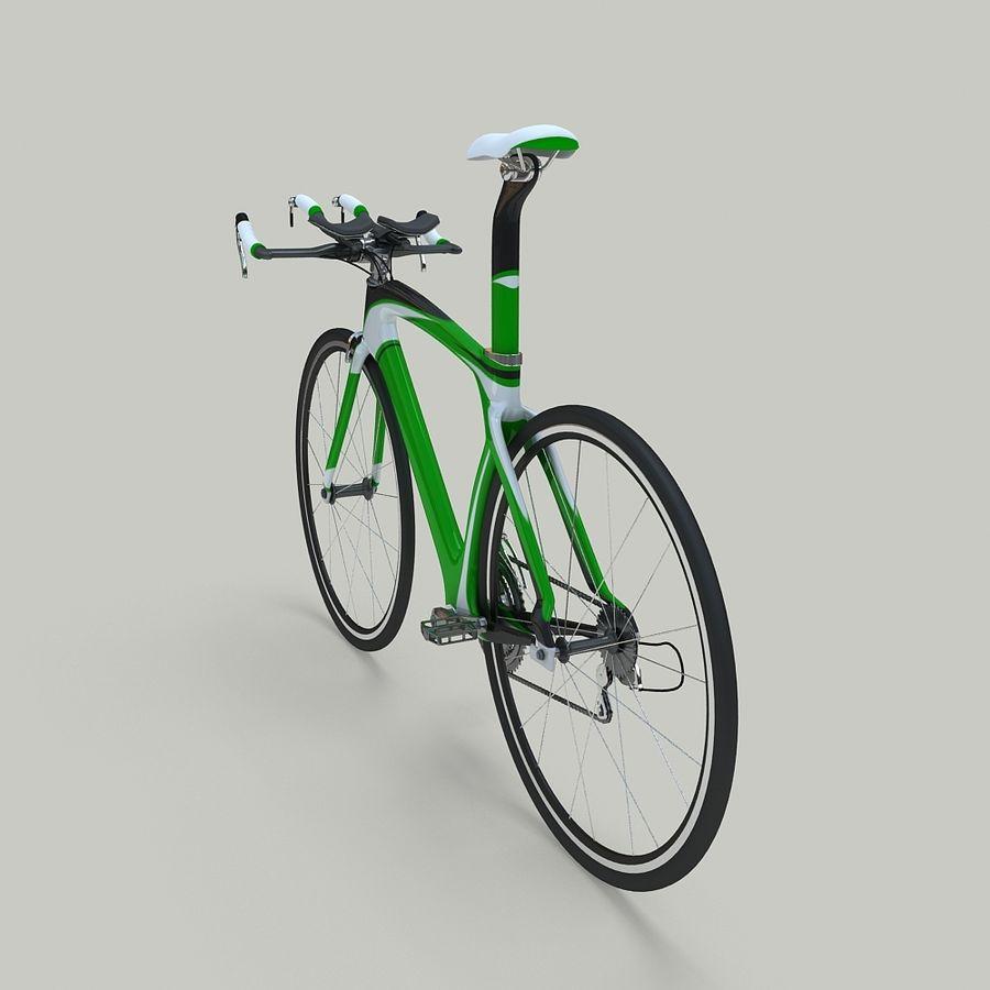 Road Bike royalty-free 3d model - Preview no. 4