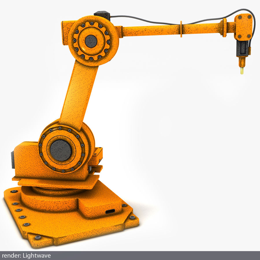 Robot arm royalty-free 3d model - Preview no. 2