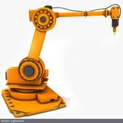 Braço robótico 3d model
