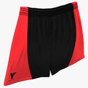 Basketball Shorts 3d model