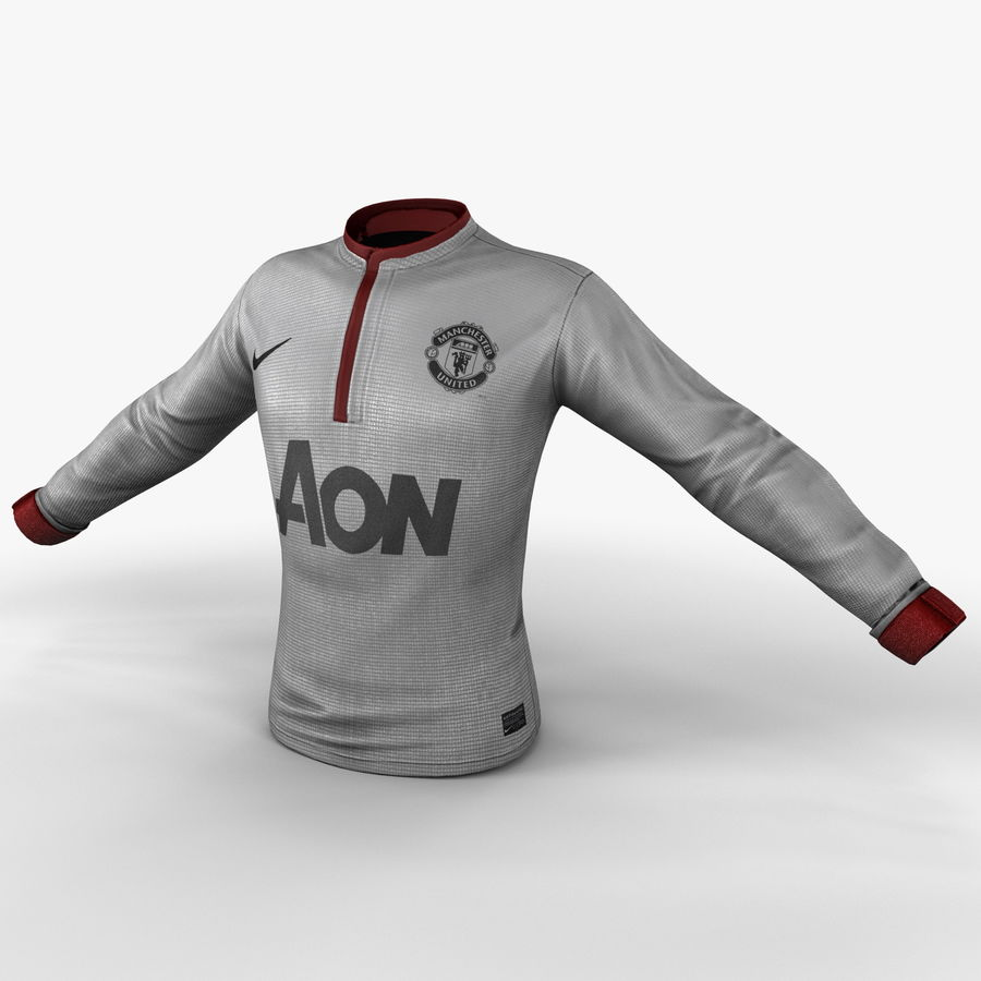 Camiseta de futbol 2 royalty-free modelo 3d - Preview no. 2