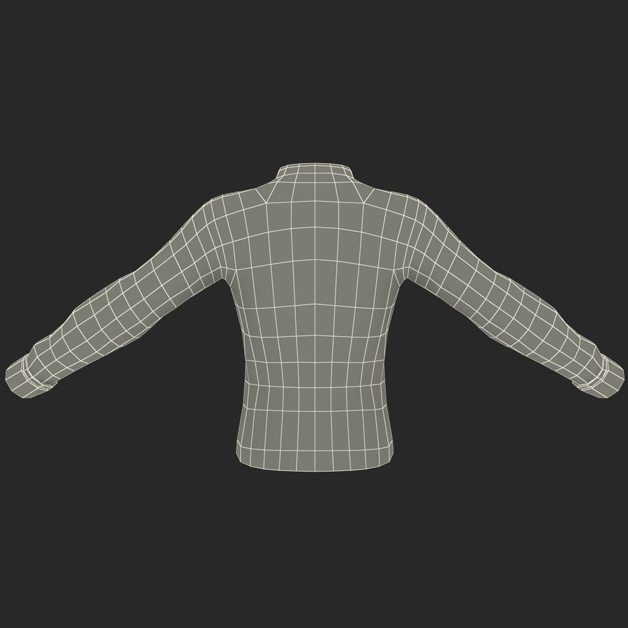 Soccer Shirt 2 royalty-free 3d model - Preview no. 20