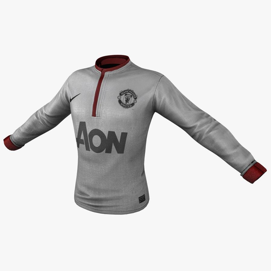 Camiseta de futbol 2 royalty-free modelo 3d - Preview no. 1