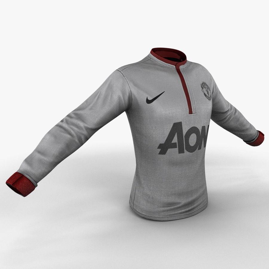 Camiseta de futbol 2 royalty-free modelo 3d - Preview no. 4