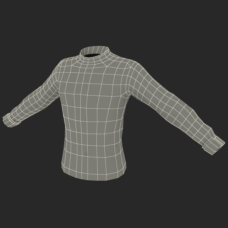 Camiseta de futbol 2 royalty-free modelo 3d - Preview no. 23