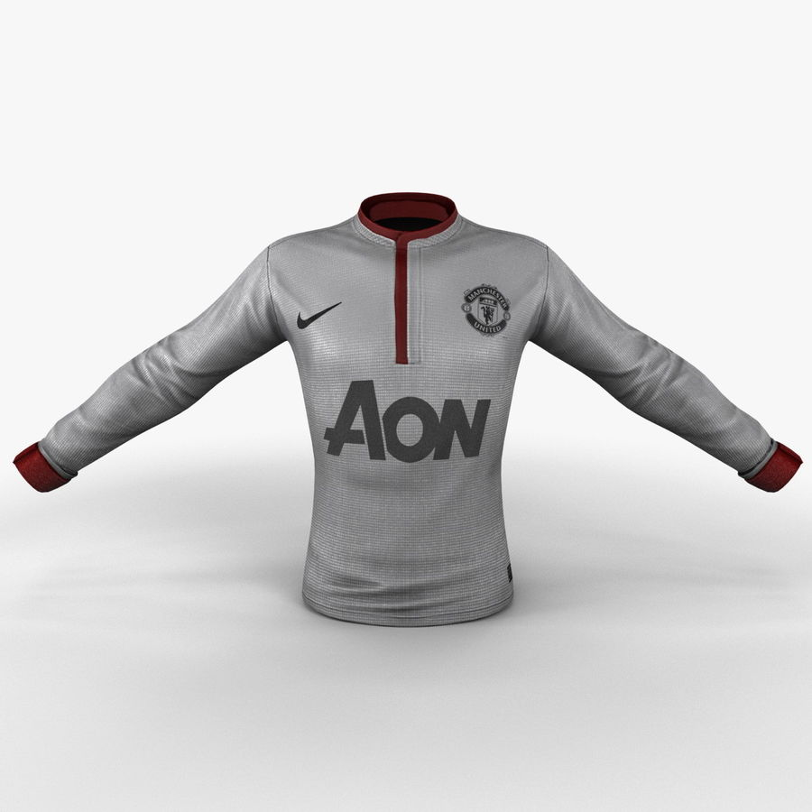 Soccer Shirt 2 royalty-free 3d model - Preview no. 3