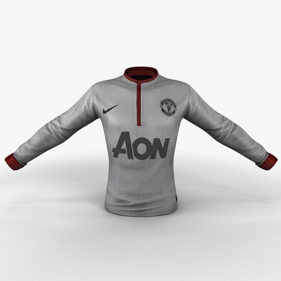 Camiseta de futbol 2 royalty-free modelo 3d - Preview no. 3