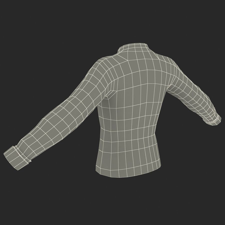 Soccer Shirt 2 royalty-free 3d model - Preview no. 21