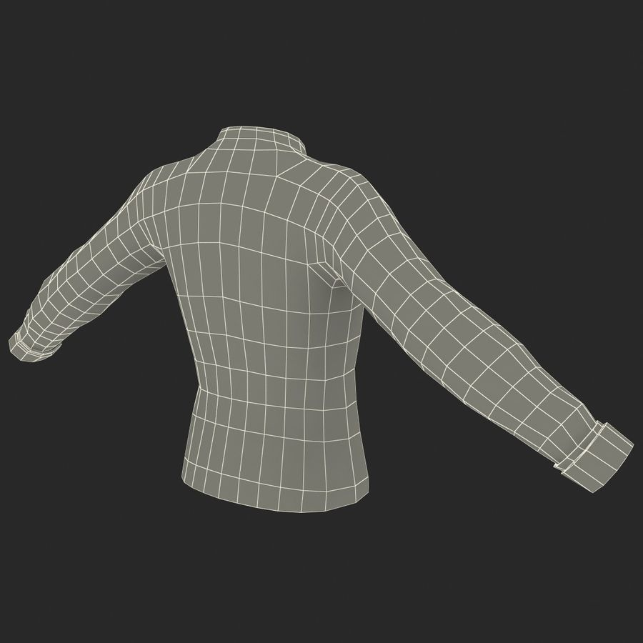 Soccer Shirt 2 royalty-free 3d model - Preview no. 19