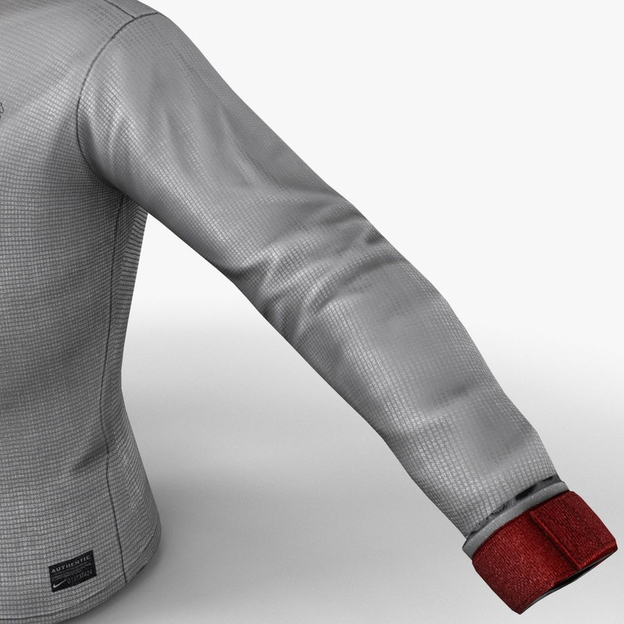 Soccer Shirt 2 royalty-free 3d model - Preview no. 14