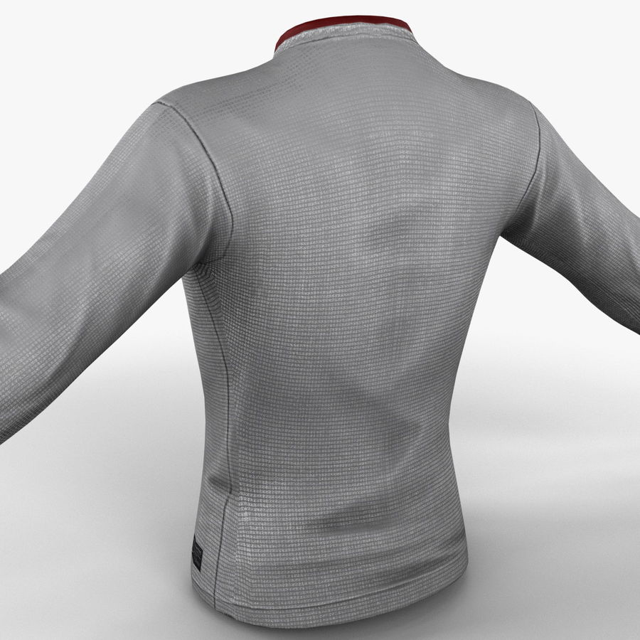 Camiseta de futbol 2 royalty-free modelo 3d - Preview no. 13