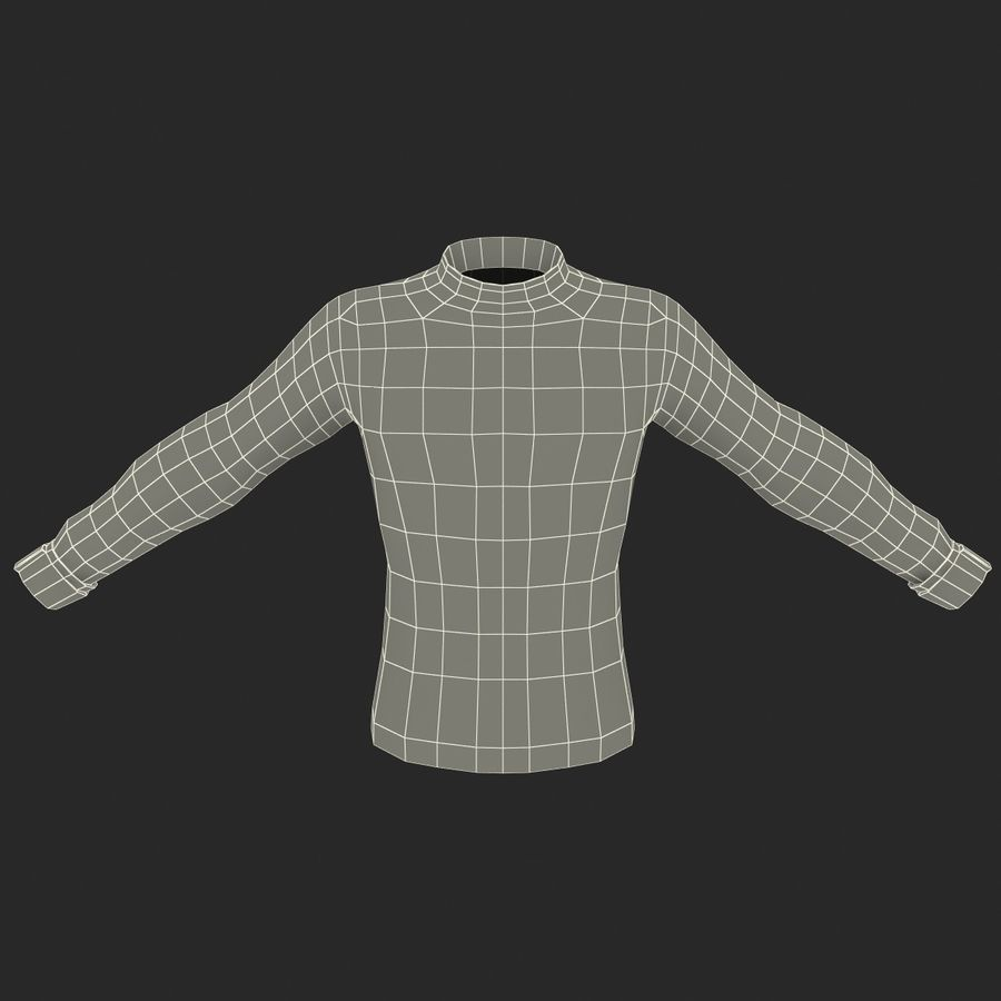 Soccer Shirt 2 royalty-free 3d model - Preview no. 16