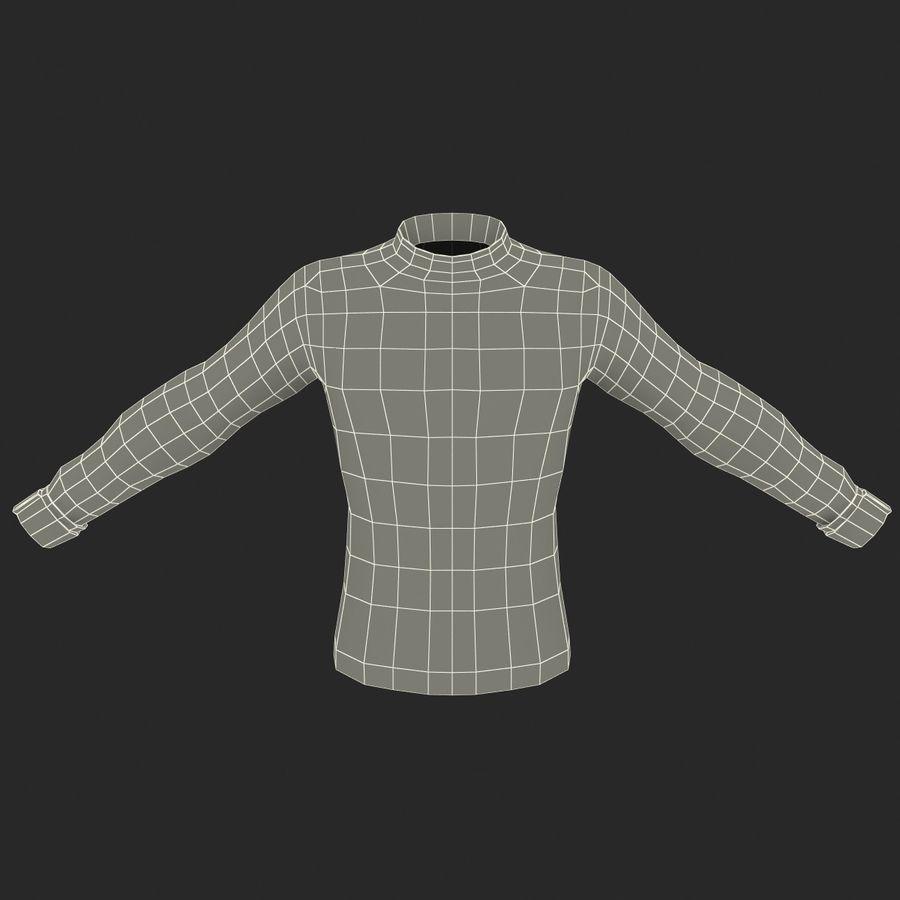 Camiseta de futbol 2 royalty-free modelo 3d - Preview no. 16