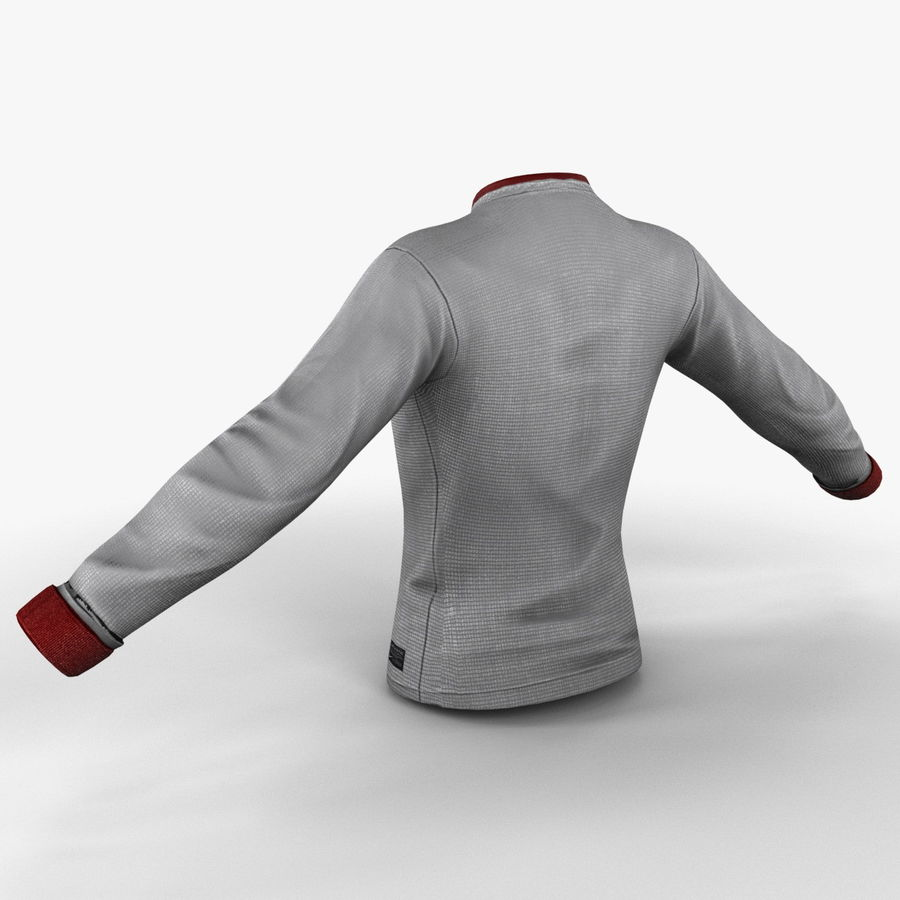 Soccer Shirt 2 royalty-free 3d model - Preview no. 8