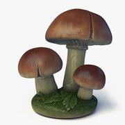 Trädgårds svampar 3d model