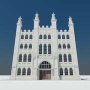 Городское здание 02 (1) 3d model