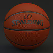 Basquete Spalding 3d model