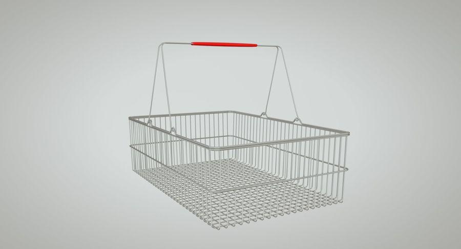 Koszyk na zakupy royalty-free 3d model - Preview no. 4