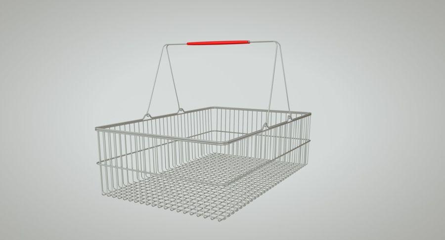 Koszyk na zakupy royalty-free 3d model - Preview no. 5