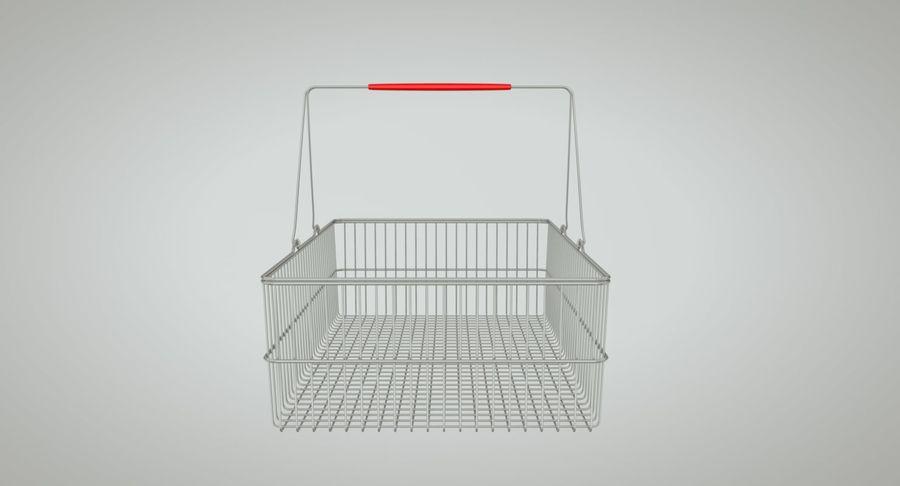 Koszyk na zakupy royalty-free 3d model - Preview no. 6