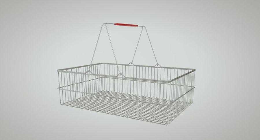 Koszyk na zakupy royalty-free 3d model - Preview no. 7