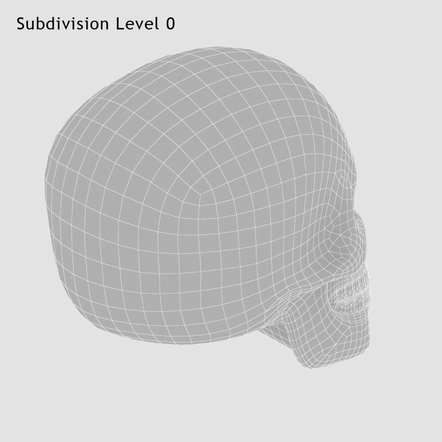 Skulls royalty-free 3d model - Preview no. 9