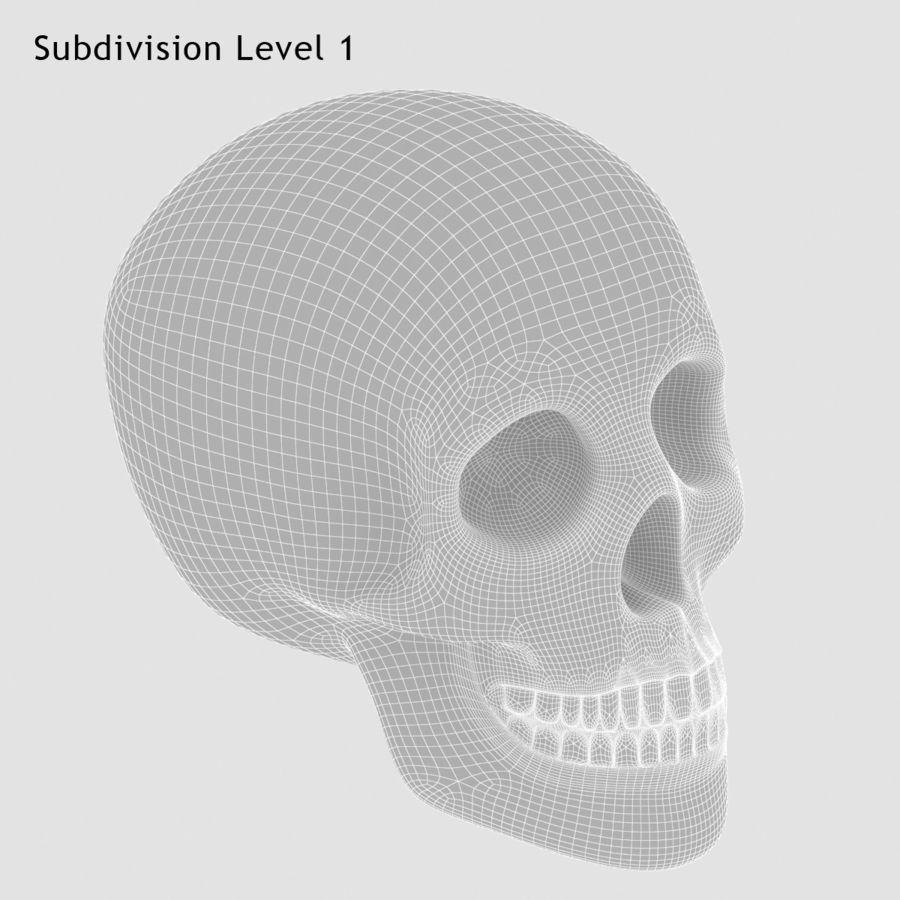 Skulls royalty-free 3d model - Preview no. 7