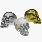 Crânes 3d model