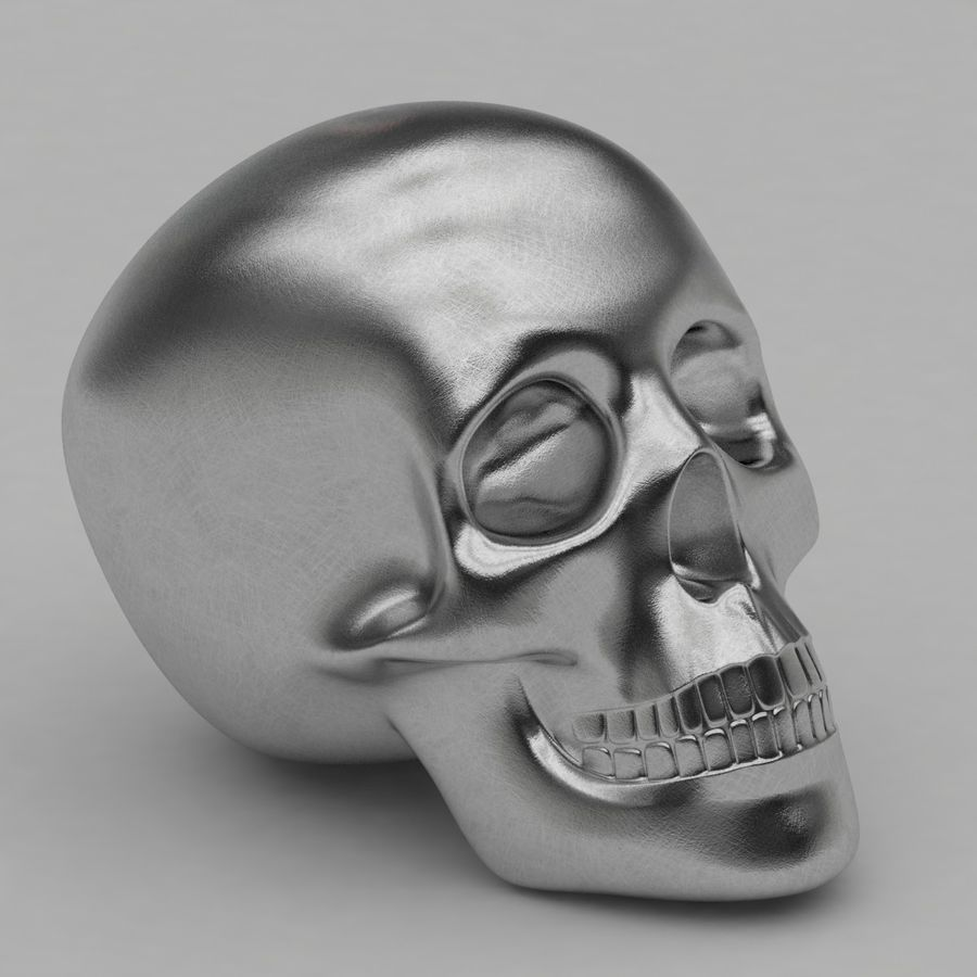 Skulls royalty-free 3d model - Preview no. 3