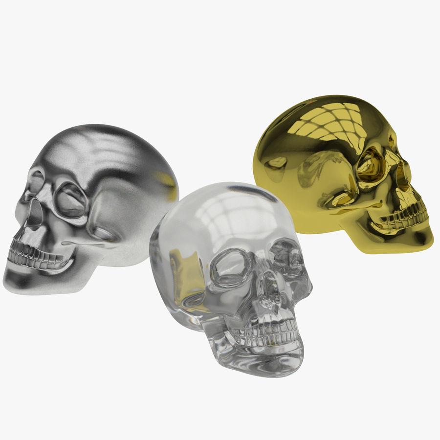 Skulls royalty-free 3d model - Preview no. 13