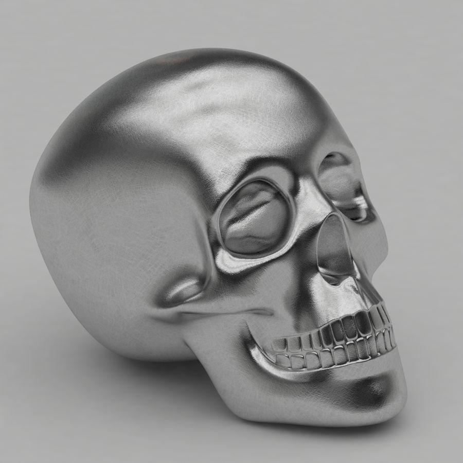Skulls royalty-free 3d model - Preview no. 2