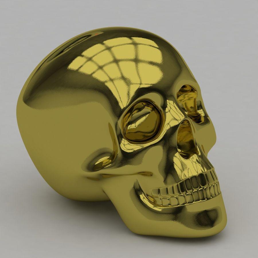 Skulls royalty-free 3d model - Preview no. 5