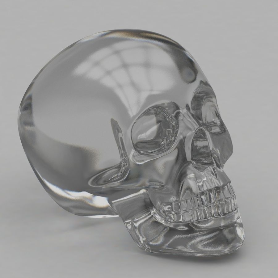 Skulls royalty-free 3d model - Preview no. 4