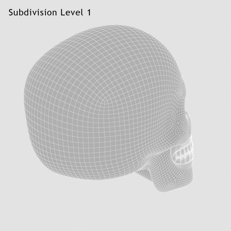 Skulls royalty-free 3d model - Preview no. 10
