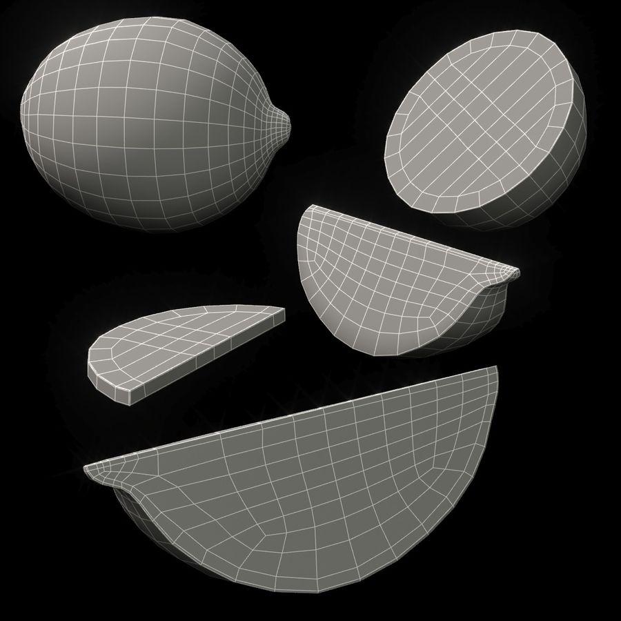 Limette royalty-free 3d model - Preview no. 8