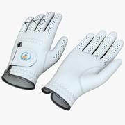 高尔夫手套 3d model