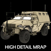 MRAP Military Vehicle 2014 3d model