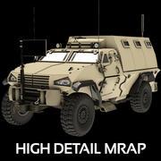 MRAP vehículo militar 2014 modelo 3d