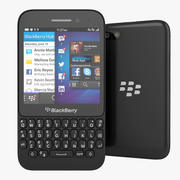 Blackberry Q5 QWERTY Смартфон 3d model