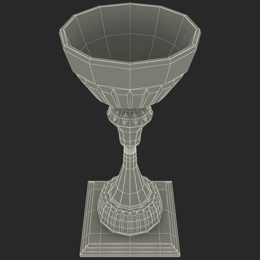 Sports Trophy royalty-free 3d model - Preview no. 14