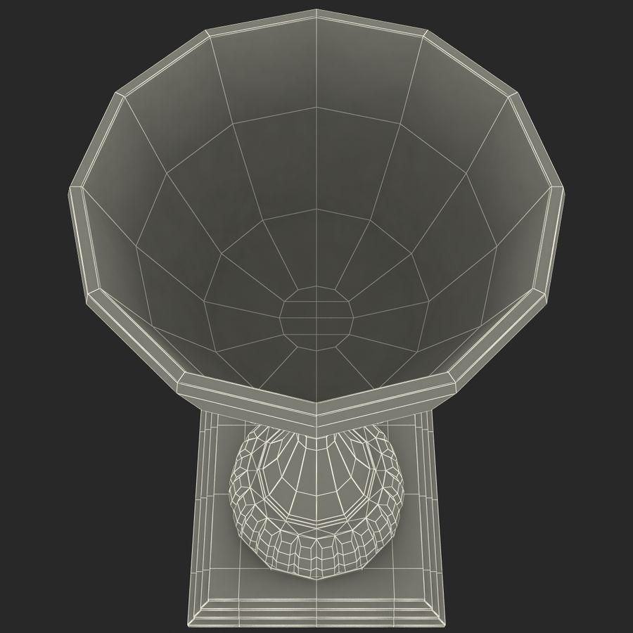 Sports Trophy royalty-free 3d model - Preview no. 16