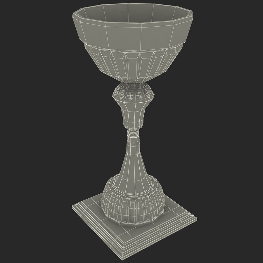 Sport Trophy royalty-free 3d model - Preview no. 9